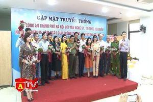 Gặp mặt giữa CATP Hà Nội và văn nghệ sỹ, trí thức Thủ đô