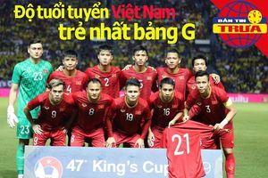 Độ tuổi tuyển Việt Nam trẻ nhất bảng G; Thanh Tùng đến Olympic