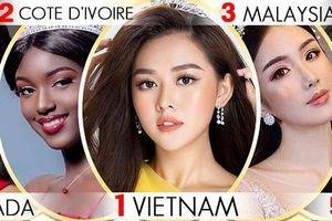 Tường San được dự đoán đăng quang Hoa hậu Quốc tế 2019