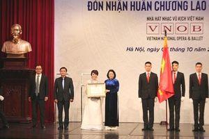 Nhà hát Nhạc Vũ Kịch Việt Nam kỷ niệm 60 năm thành lập