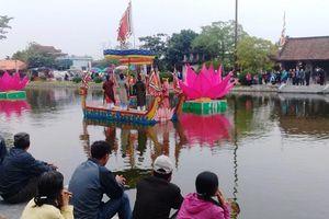 Khai hội chùa Keo Thái Bình