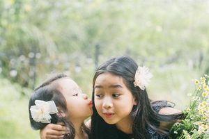 Ngắm 2 công chúa siêu dễ thương nhà Hồ Hoài Anh - Lưu Hương Giang