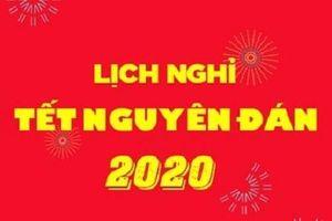 Thủ tướng chốt phương án nghỉ Tết Nguyên đán Canh Tý 2020