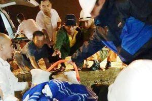 Kịp thời cứu sống thuyền viên Nghệ An dập nát 2 chân, hôn mê khi lao động trên biển
