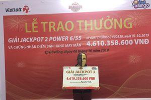 'Tỷ phú Vietlott' trúng hơn 4,6 tỷ đồng tại Đà Nẵng làm nghề bán vé số dạo