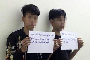 Cảnh sát mật phục ngăn chặn nhóm 'quái xế' nhí đua xe náo loạn phố ở Hải Phòng
