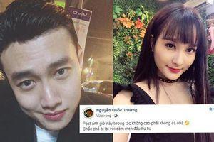 Quốc Trường lại tung chiêu 'thính' mới, fan nhanh chóng phát hiện: Thì ra là sao chép y hệt từ status của Bảo Thanh