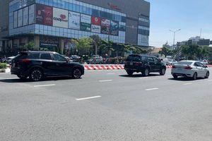 Toát mồ hôi qua cầu Sài Gòn vì... nút giao bị đóng để sửa chữa