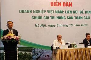 Giải pháp nào cho doanh nghiệp Việt tham gia chuỗi giá trị nông sản toàn cầu?