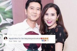 Tóc Tiên, Đông Nhi cùng dàn sao Việt gửi lời động viên, tin tưởng vợ chồng Lưu Hương Giang trước tâm bão