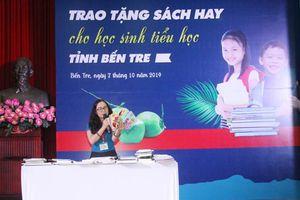 Hơn 31 ngàn đầu sách, tạp chí tặng học sinh tiểu học Bến Tre