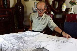 Bản đồ 02/BB-BQL vẽ lại ranh quy hoạch Thủ Thiêm