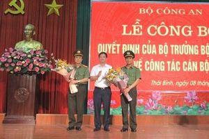 Giám đốc Công an tỉnh Thái Bình Nguyễn Văn Minh được điều đồng nhận nhiệm vụ mới