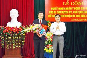 Nhân sự mới tại Đắk Nông, Nghệ An, Yên Bái