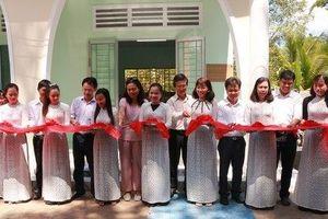 Phi chính phủ Thụy Sĩ xây điểm trường mẫu giáo cho huyện nghèo Vĩnh Long