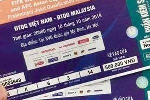 Lãnh đạo Bộ VHTT&DL cũng… chưa có vé xem trận Việt Nam – Mailaysia(?)