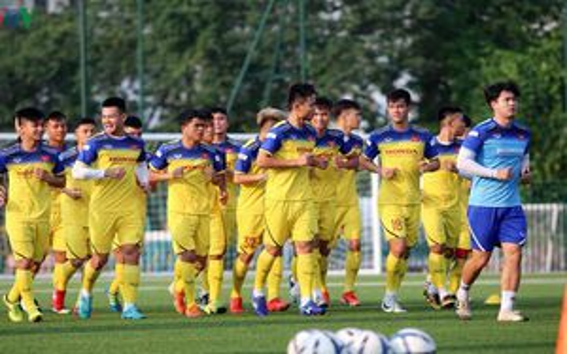 HLV Park Hang Seo chốt danh sách U22 Việt Nam đá giao hữu với U22 UAE