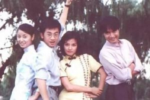 Cả tuổi thơ ùa về với loạt ảnh hậu trường cũ của 'Tân dòng sông ly biệt'
