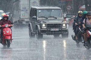 Dự báo thời tiết: Bắc bộ mưa giông rải rác trước khi đón không khí lạnh vào cuối tuần