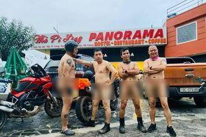 Bị 'ném đá' dữ dội vì 'nude' trên đèo Mã Pí Lèng, nhóm đàn ông khỏa thân thanh minh: 'Vui là chính'