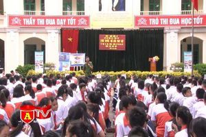 Tuyên truyền kiến thức pháp luật cho gần 1000 học sinh trường THCS Lý Thường Kiệt