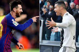 Ronaldo và Messi được so sánh với 2 huyền thoại tennis