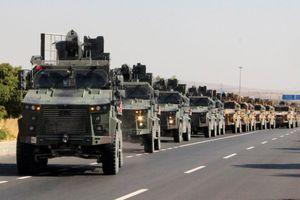 Quân đội Thổ Nhĩ Kỳ tấn công vào Syria