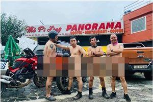 4 quý ông khỏa thân trên đèo Mã Pì Lèng: Thiếu não còn tỏ ra nguy hiểm?
