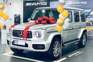 Mercedes-AMG G63 chính hãng hơn 10 tỷ đến tay khách Việt