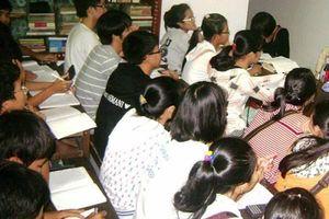 Bà Rịa-Vũng Tàu ngưng nhận hồ sơ xin dạy, học thêm ngoài nhà trường