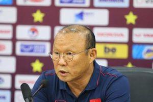 HLV Park Hang-seo: 'Không chắc 100%, nhưng tôi muốn thắng Malaysia'
