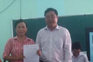 Huyện Vĩnh Thuận họp hỏa tốc vụ 'Nhà giáo nước mắt chan cơm'