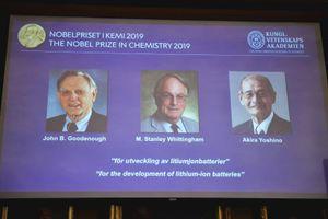 Bộ ba nhà khoa học Mỹ-Anh-Nhật giành giải Nobel hóa học cho nghiên cứu pin lithium-ion