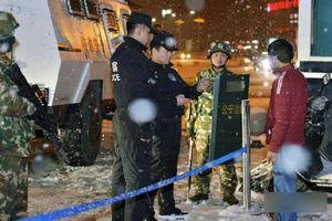 Bắc Kinh họp báo về vụ Mỹ trừng phạt công an Tân Cương
