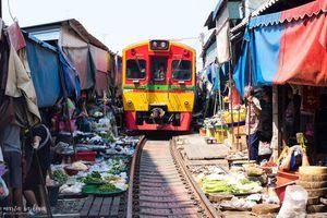 Hãi hùng khu chợ thách thức 'tử thần' tại Thái Lan