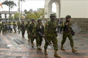 Thủ đô Quito ban bố tình trạng khẩn cấp do biểu tình