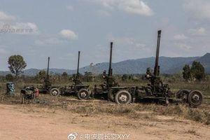 Lai lịch pháo phòng không nòng đôi bí ẩn của quân đội Thái Lan