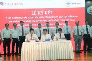 EVNSPC ký thỏa thuận hợp tác Agribank