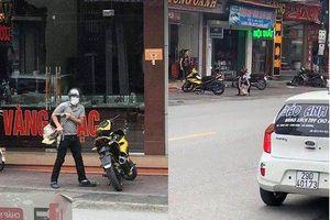 Danh tính kẻ cướp tiệm vàng đánh rơi balo tiền trong lúc tháo chạy ở Quảng Ninh
