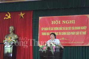 Ngành thuế Thừa Thiên Huế tháo gỡ vướng mắc nghiệp vụ cho doanh nghiệp