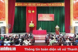 Lấy ý kiến đánh giá về sự hài lòng của nhân dân đối với công an huyện Tĩnh Gia