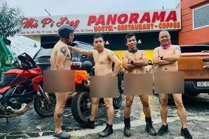 Nhóm khách khỏa thân đi motor trên đèo Mã Pí Lèng bị chỉ trích dữ dội
