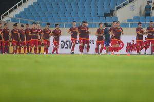 Đội tuyển Việt Nam trước trận cầu lửa với Malaysia