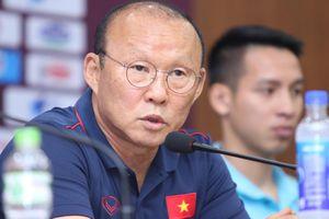 HLV Park Hang Seo: 'Tôi không bận tâm về quá khứ đối đầu với người Mã'
