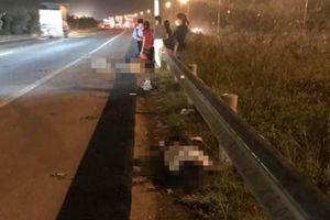 Ba công nhân bị ô tô tông thương vong khi băng qua cao tốc: Có hầm chui nhưng dân không đi