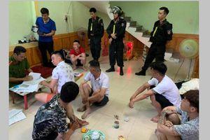 200 cảnh sát Quảng Bình triệt phá 13 tụ điểm cho vay nặng lãi