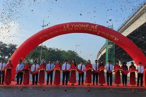 Thông xe công trình mở rộng đường vành đai 3 dưới thấp, đoạn Mai Dịch – cầu Thăng Long