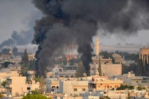 Thổ Nhĩ Kỳ tấn công dữ dội tỉnh Hasakah ở Syria: 8 dân thường thiệt mạng