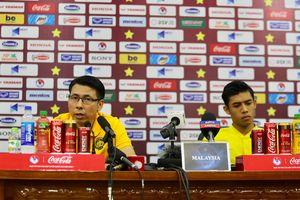 Ông Tan chia sẻ nỗi lo của đội tuyển với truyền thông Malaysia