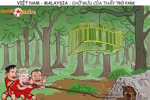 Ultras Malaysia tập trung tại sân Mỹ Đình